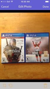 Trade the witcher 3 and NHL 16