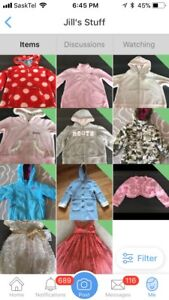 Lots of New and Gently Used Girl Clothing - Size 12 Mos to 4T