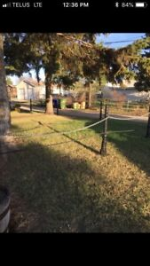 Metal Fence with chain For Sale