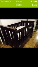 Tasman eco tuscany 4 in 1 cot + free steelcraft pram Concord Canada Bay Area Preview
