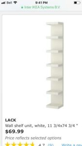 Looking for 1 or 2 ikea shelves