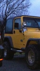 Jeep tj hard top