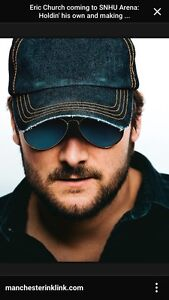2 Tickets for Eric Church