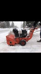 MASTERCRAFT 4-20 SNOWBLOWER