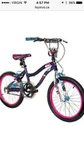 "Girls Monster High 18"" Bike with Helmet"