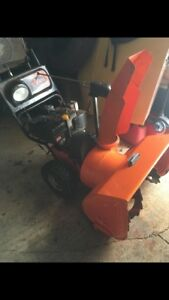 For sale Ariens  snow king 10/27 works great $450
