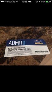 LandMark Theatre Ticket