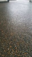 Custom concrete, 100 plus colors to choose from call today!