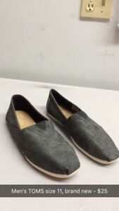 Men's TOMS shoes - Brand new