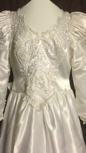 WEDDING DRESS SIZE 14-16  Windsor Region Ontario image 2