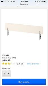 Ikea crib rail
