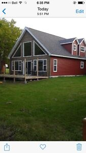 Cottage over looking the richibucto river