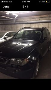 BMW X3 crossover 3.0 fully loaded