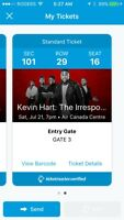 Kevin hart tickets Toronto ON ACC