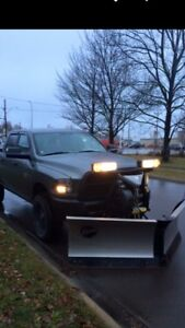 2014 FISHER v plow stainless steel 8.5