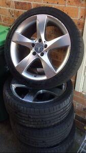 Mercedes Benz Wheels Belmore Canterbury Area Preview