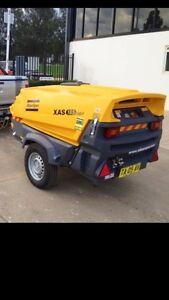 DIY HIRE AIR COMPRESSORS ATLAS COPCO XAS185 trailer mounted Sydney City Inner Sydney Preview