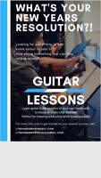 IN-HOME & SKYPE GUITAR LESSONS!
