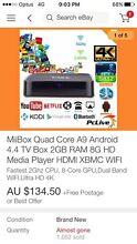 Android 4.4 TV Box 2GB RAM Hurstville Hurstville Area Preview