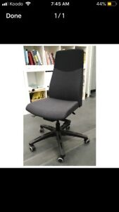 Like new IKEA swivel supported office chair