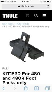 ****Thule fit kit 1530 Ford Edge Lincoln MKX