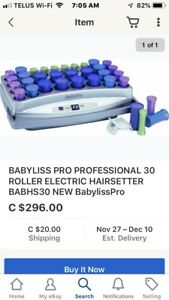 BaByBliss hair curling system