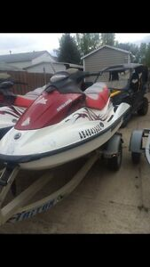 Sea doo gti 130 and a 155