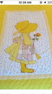 Holly Hobbie twin Quilt