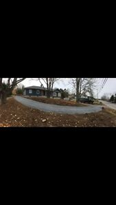 Driveway Expansion and Grading