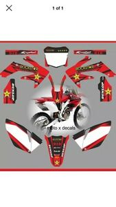 Rockstar graphics for a crf 250r