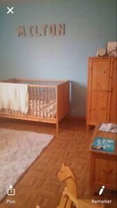 Set de chambre complet bébé/enfant