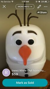 (new) white olaf home humidifier