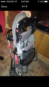 Sit and stand stroller  Kitchener / Waterloo Kitchener Area image 1