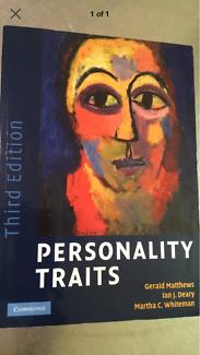 Personality Traits Psychology Textbook