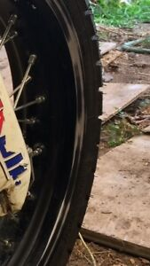ISO Suzuki RM-Z450 Rims and Tires.