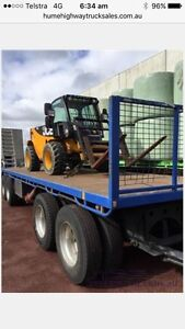 HAMELEX QUAD DOG PLANT TRAILER ON AIRBAGS WITH MATCHING TRAY Kempsey Kempsey Area Preview
