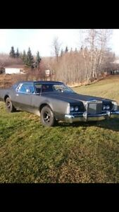 1976 Lincoln mark 4 (fully loaded )