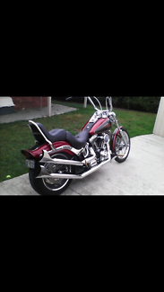 2007 Custom Soft Tail Corio Geelong City Preview