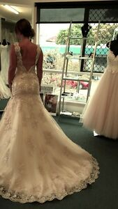 Stella York Gold Wedding Dress Size 10 Adelaide CBD Adelaide City Preview