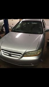 Honda Accord 2002   Safety  & e- tested  or best offer!