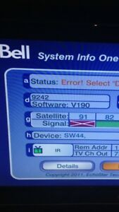 I want to fix your Bell Satellite