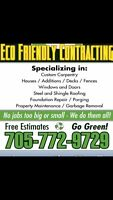 75$ Eavestrough cleaning and free inspection for repairs