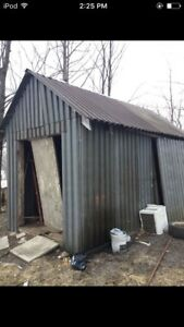 Metal Shed ( price reduced )