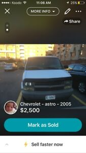 2005 Chevy Astro Mint condition
