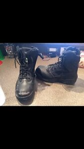 Ladies steel toed boots