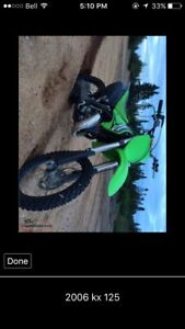 2006 kx 125 will trade for something of interest