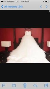 Affordable Breathe Taking Wedding Gown PRICED TO SALE