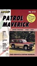 Nissan patrol Maverick Gregory's workshop manual Cranbrook Townsville City Preview