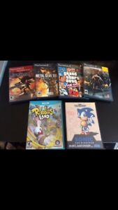 PS2 AND SEGA GENESES GAMES CLEAROUT