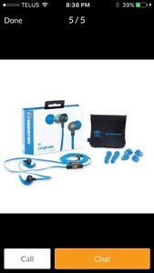 Adidas Monster In-Ear Headphones - Brand new and sealed